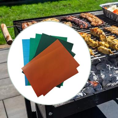Colored Non-stick BBQ Grill Mat