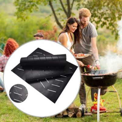 New Perforated Heat-Resistant Grill Mat