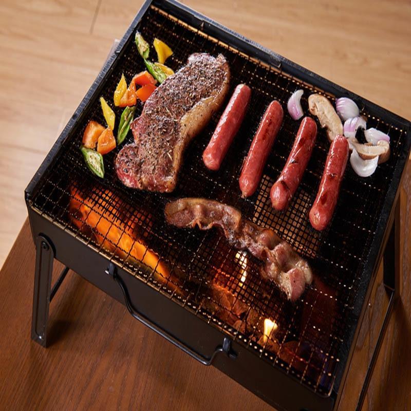 Non-stick Grill Mesh Mat - Reusable Barbecue Grill Sheet Liners, Heat-Resistant Teflon Grilling Mesh Mats