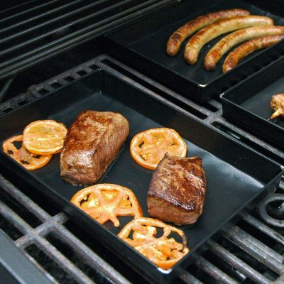 Non-stick Heat-Resistant PTFE Grilling Pan