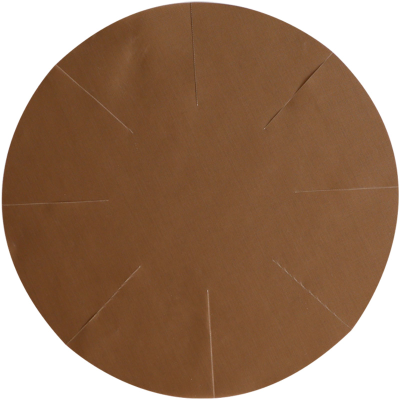 Non-stick Round Cake Tin Liner – Heat-resistant PTFE Baking Mat Liner for 6 inch Cake Tin, Reusable Parchment Sheet Paper