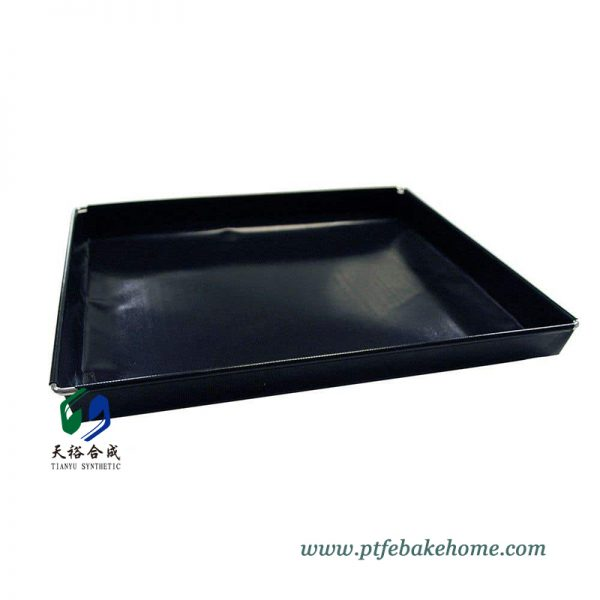 PTFE Non-Stick Mesh Basket for Chips, Vegetables, Reusable Oven Mesh Pizza Tray Barbecue Mesh Mat Basket8