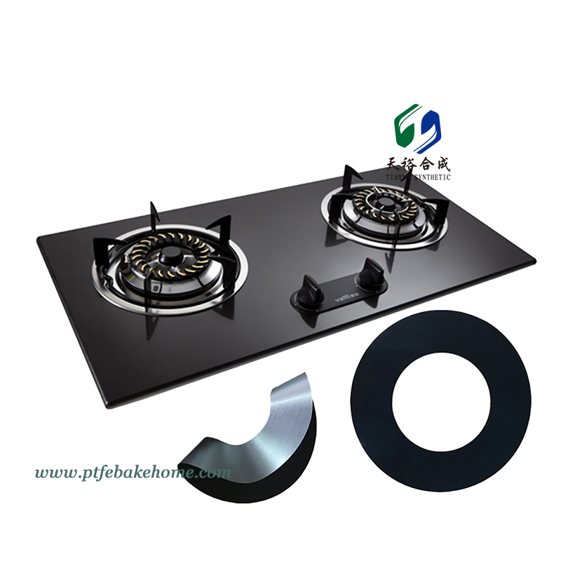 Round Stove Burner Covers – Non-stick Easy to Clean Gas Stovetop Burner Cover Liner, Stovetop Protector
