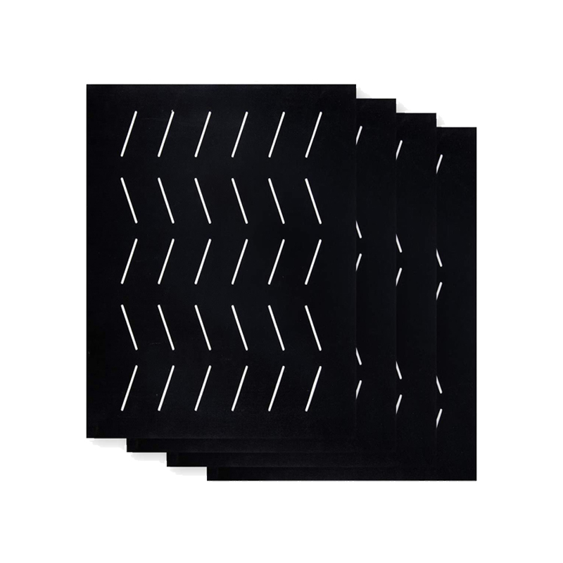 Upgraded Barbecue Grill Mats with Holes - Non-stick Barbecue Grill Sheet Liners Teflon Grilling Mat for Use on Gas, Charcoal and Electric Grills3