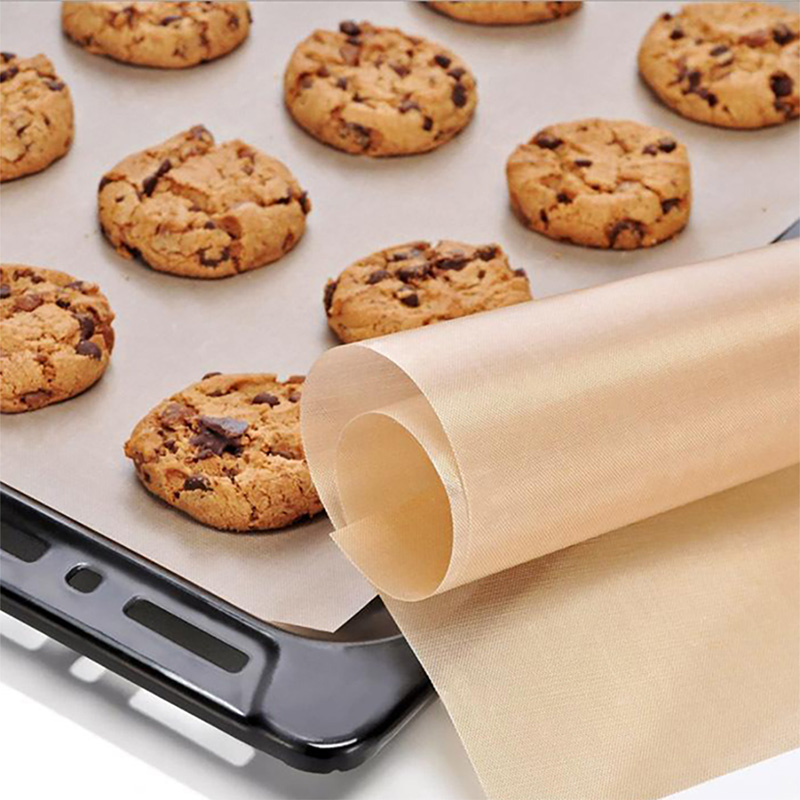Non-stick PTFE Baking Sheets - Reusable Oven Liner for Baking, Cooking Sheet for Bottom of Electric, Gas, Toaster & Microwave Ovens