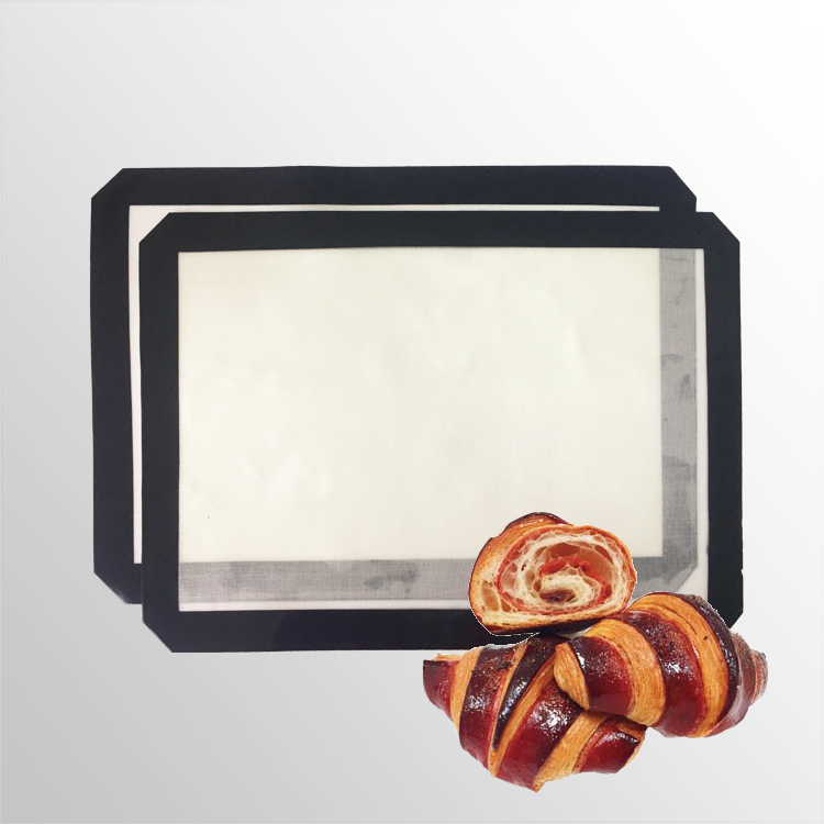Non-stick Silicone Oven Baking Mat - Heat Resistant Silicone Baking Liner for Bake Pans & Dough Rolling