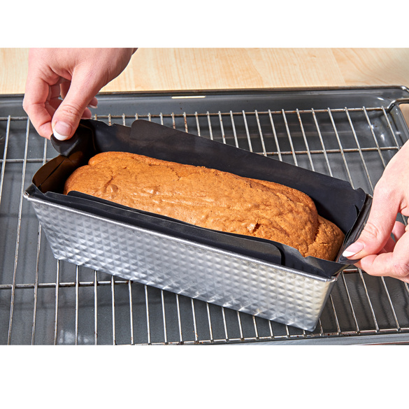 Rectangular Baking Liners for Loaf Pan – Reusable Cooking Mat, Baking Parchment Sheets, Nonstick Baking Cake Pan Liner for Cookie